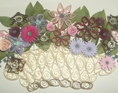 Paper Quilled Wall Hanging