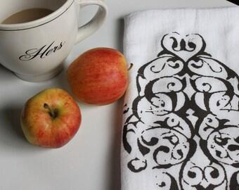 "1 ""MODERN PAISLEY""  Kitchen Towel , Flour Sack  Towel, Tea Towel ,  Kitchen Dish Cloth, Modern Vintage Market"