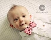 baby bow tie, baby boy bow tie, red bow tie, red bowtie, newborn bowtie, newborn bow tie, gingham bow tie, toddler bowties