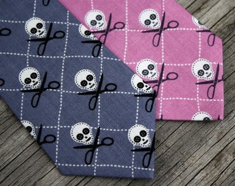 Skulls Ties for Boys