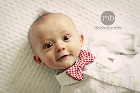 Items Similar To Baby Boy Bow Tie Newborn Bowtie Newborn