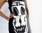 Salvador Dali In Voluptas Mors 1951 Art Surrealism Black Tank Top Tunic T-Shirt Women Size M L