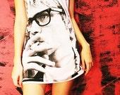 Kurt Cobain Nirvana Love You So Much It Makes Me Sick White Tank Top Sleeveless Women Size S M