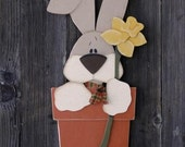 Spring Bunny Painting Pattern