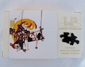 Vintage LP Record Puzzle, Chicago IX, Chicago's Greatest Hits - 70 pieces, Handcrafted, Repurposed