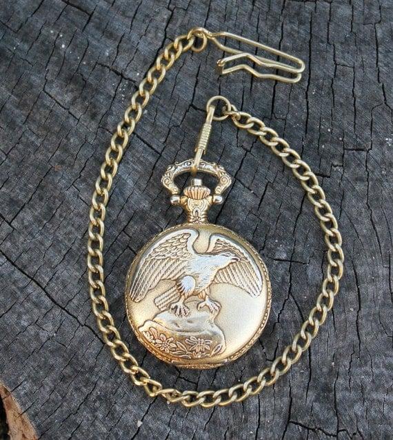 Vintage Men's Pocket Watch
