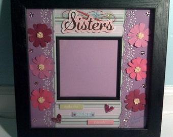 Custom Photo Frame - Sisters
