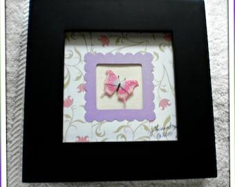 Custom Photo Frame - Butterfly