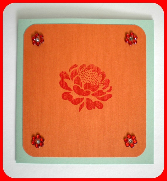 Birthday Card - Rose