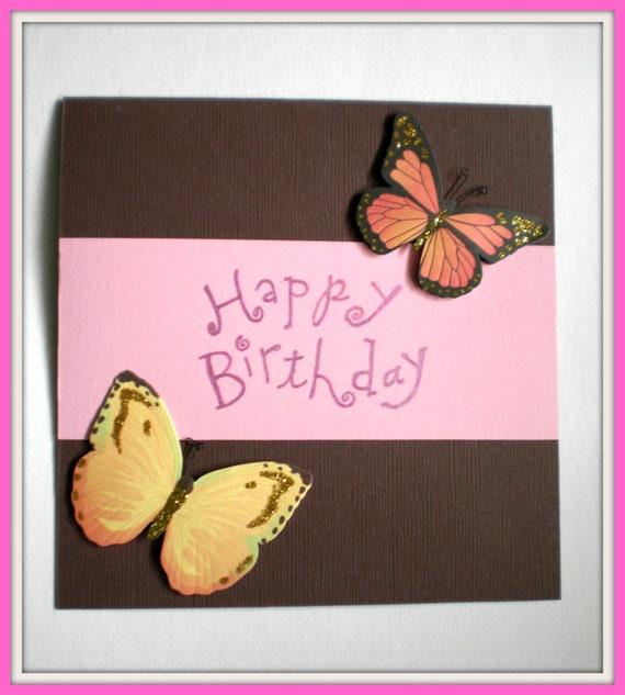 Birthday Card - Butterfly