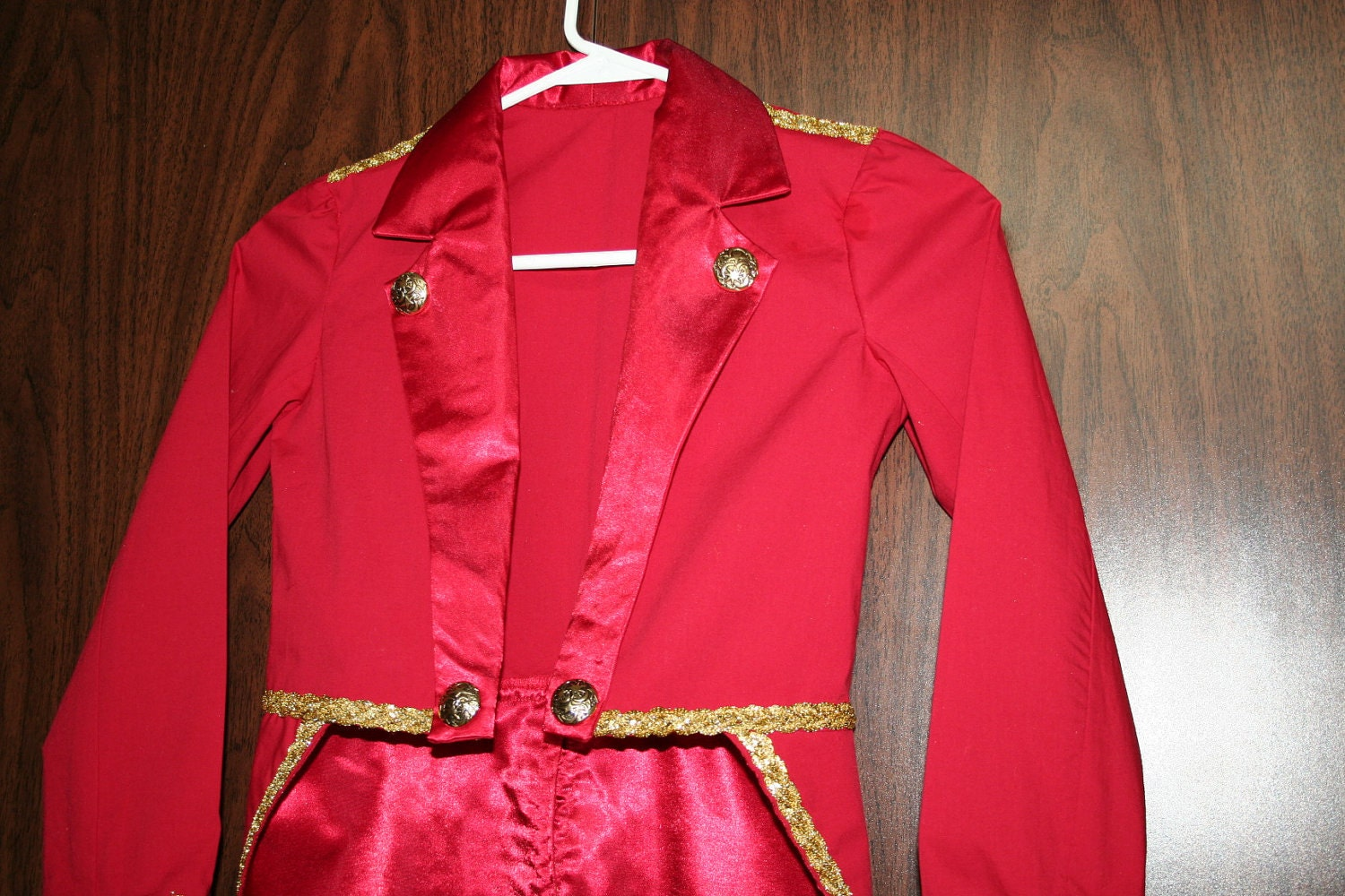 Ringmaster Costume, Ringleader Costume, Women's Ringmaster Jacket, Ringleader Coat, Lion Tamer Costume, 4th of July, Red White and Blue TrappedInTimeDesigns 5 out of 5 stars.