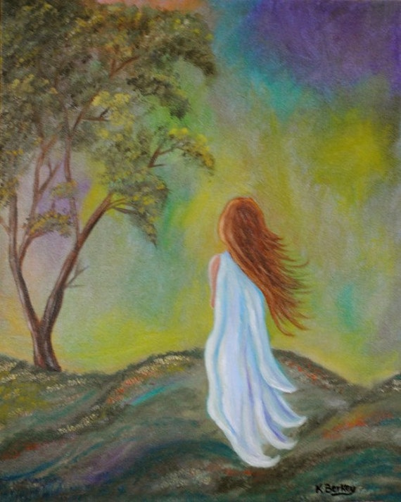 Original Oil Painting 'Aurora'  16 x 20 by Kelly Berkey
