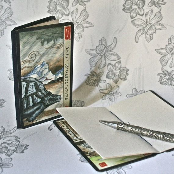 Chinese Tarot Notebook Jotters
