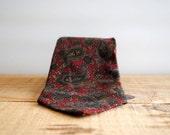SALE 50% OFF Vintage Necktie by X'Andrini for Bullock's - Vintage Silk Tie Don Draper Style
