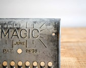 Vintage Metal Grater by Magic