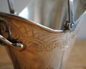 Vintage Silver Basket - Silver Plated Serving Dish