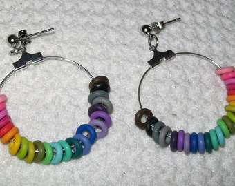 Rainbow Spectrum Earrings