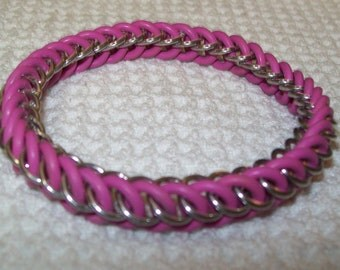 Stretch Half Persian Chainmaille Bracelet