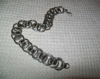 Manly Size Helm Chainmaille Bracelet