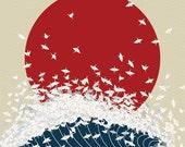 "4""x6"" Senbazuru Postcard (Pack of Ten)"