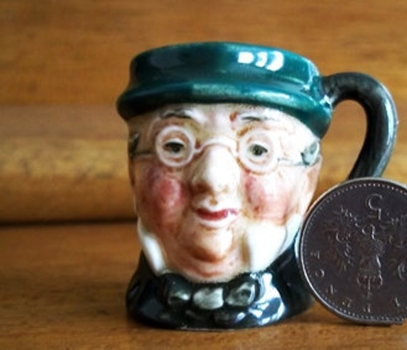 "Tiny ""Mr. Pickwick"" Character Jug By: Royal Doulton"