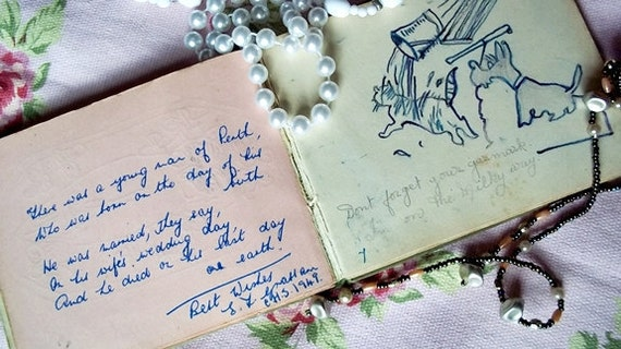 Autograph  Book  : Little Friendship Book 1931-1949 Owned By a Nurse in Yorkshire England