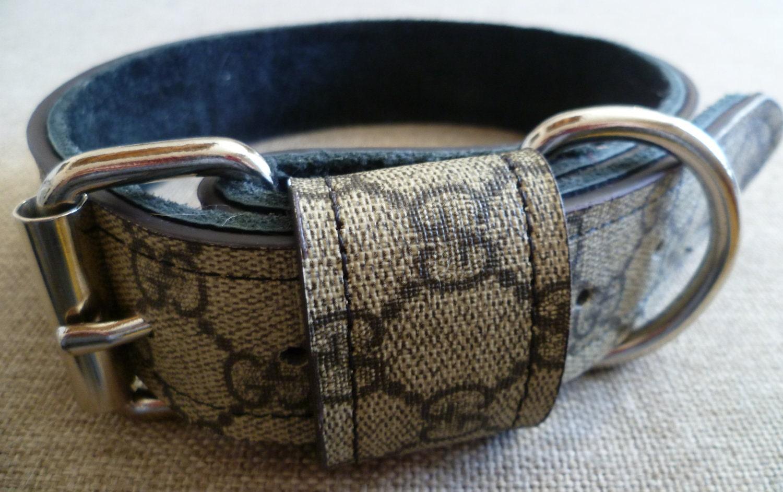 Gucci Inspired Dog Collar