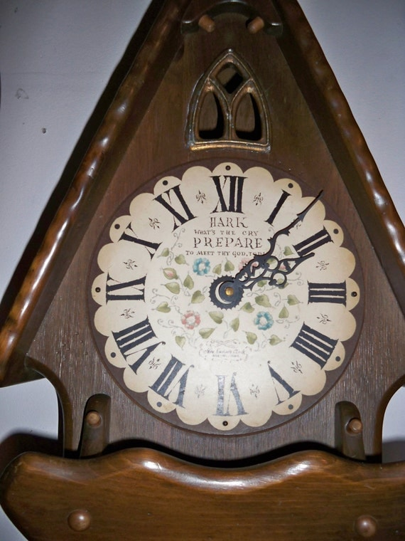 Price Reduced Vintage 1960 S New England Clock Co