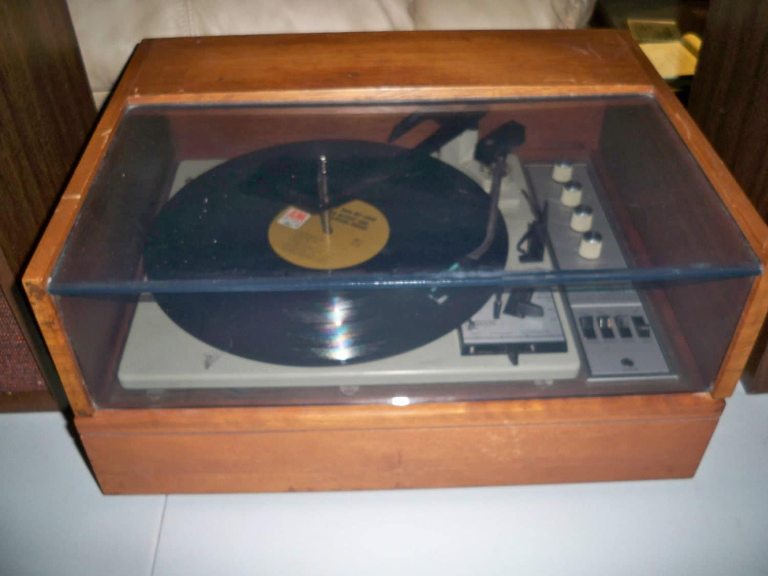 Vintage Klh Model 26 Turntable From The Late By