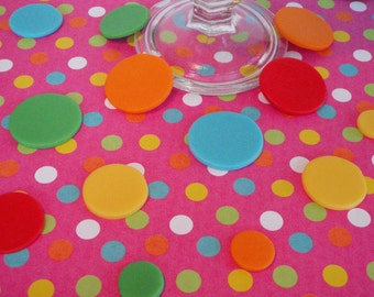 Fondant Polka Dots, Circles, Rounds for Cake and Cupcake Decorating- perfect for Birthdays, Showers, Smash, Weddings and Celebration Cakes