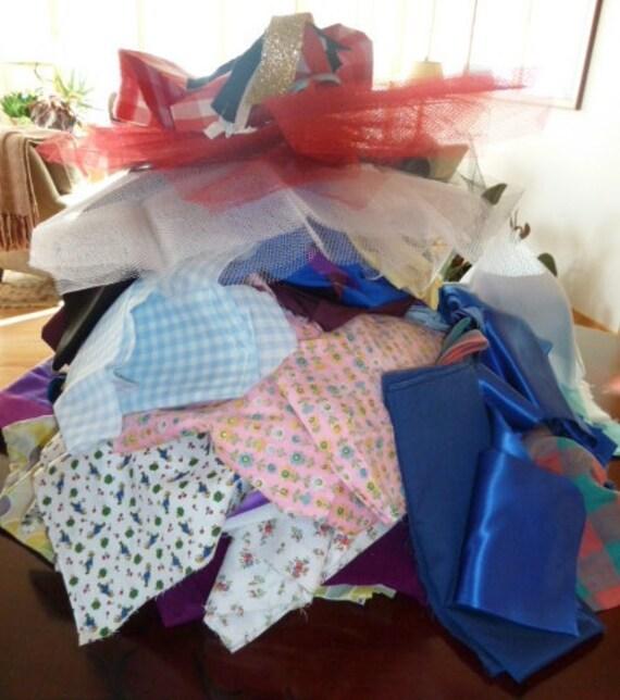 Fabric, Fabric, Fabric - Large Destash - 10 lbs