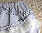 Ruffles and Chiffon Skirt
