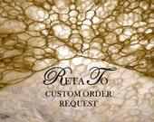 Reserved for GINA - Custom Order