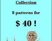 Thumbprint Patterns Collection of PDF Sewing Patterns, Sale Price, Tutorial, Patterns ONLY