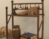 circa 1890 antique victorian book shelf
