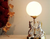 circa 1960 italian unicorn lamp