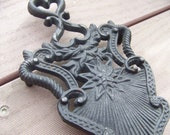 Vintage Shabby Chic French Country Iron Trivet