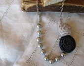 Rosies and Pearls Custom Made Posie Necklace