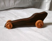 Formula 1 toy racecar hardwood handcrafted