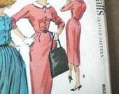 Womens Size 16 Pattern Dress and Skirt Circa 1950s