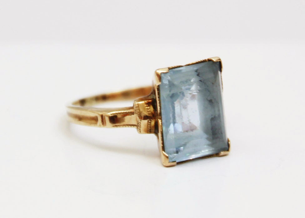 1930s Ostby Amp Barton Ring