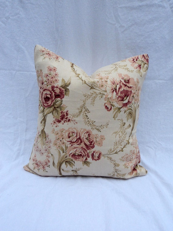 Set of 2 18 x 18 Pillow Covers French Country Decor