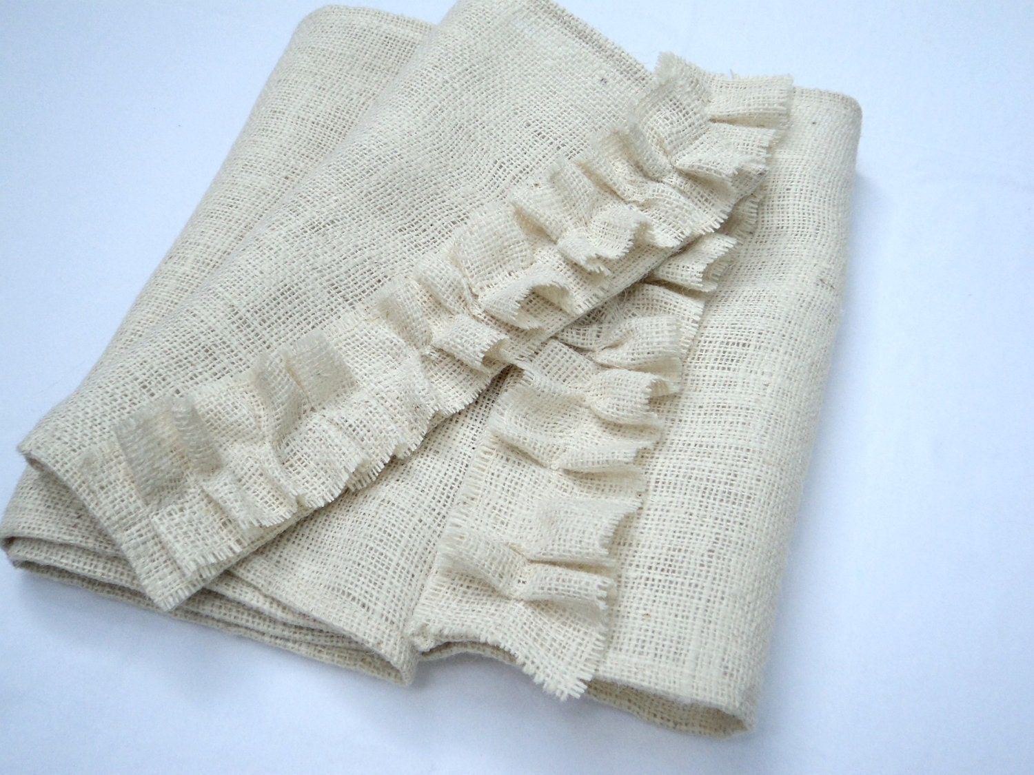 Burlap Table Runner Reserved Listing for Whitney/Marta