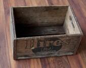 1949 hires root beer crate