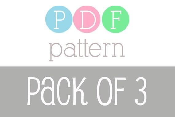 PATTERN PACK - Pick Any 3 PDF Crochet Patterns