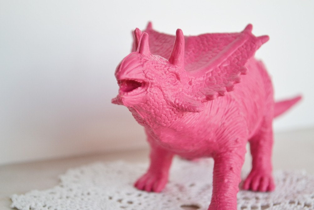 Last One Hot Pink Dinosaur Or Choose Your Color Toy