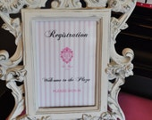 Hotel Registration Sign & Guest Registry Package - Eloise at the Plaza
