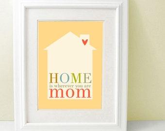 Mom's Day Art Print 8 x 10 inch SALE buy 2 get 3