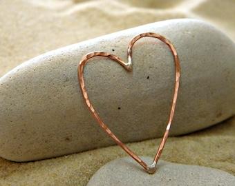Wild Love Heart in Copper