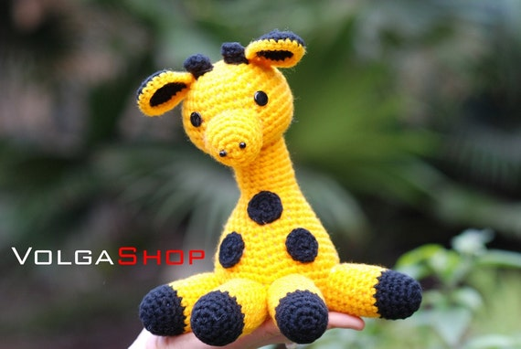 GIRAFFE Crochet Amigurumi - Ready To Ship